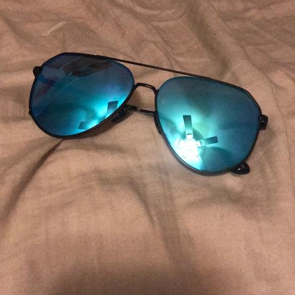 468c6e4fc83 Diff Eyewear Accessories - Blue Diff JESSIE James decker Sunglasses